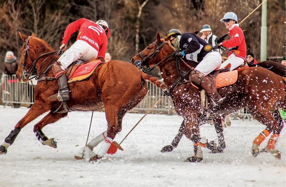 Bad Gastein, finał turnieju snow polo