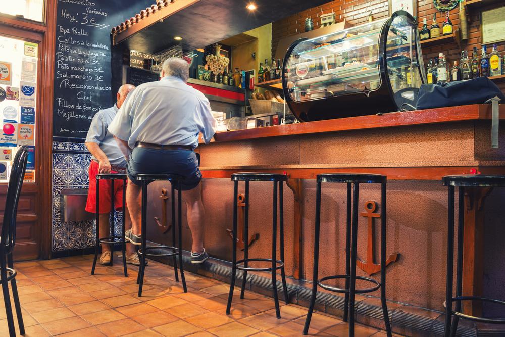 Bar tapas w Madrycie