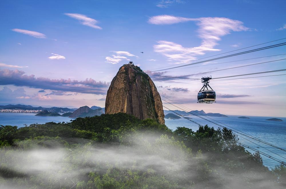 Głowa Cukru jest jednym z najchętniej odwiedzanych miejsc w Rio de Janeiro