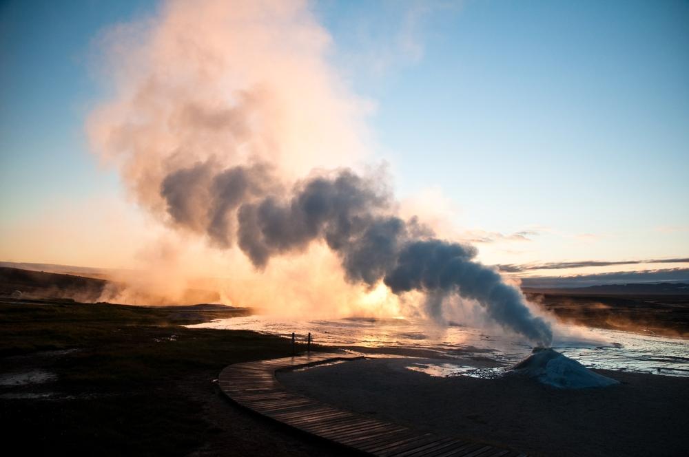 Aktywność wulkaniczna na Islandii